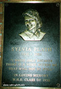 plath_plaque